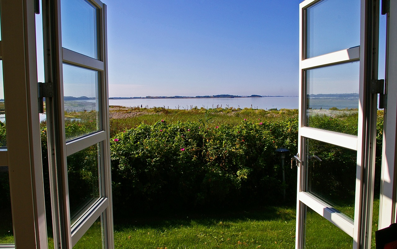 natural ventilation open windows