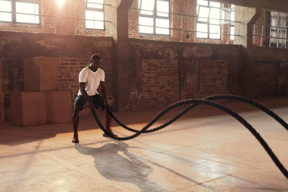 battle ropes muscles
